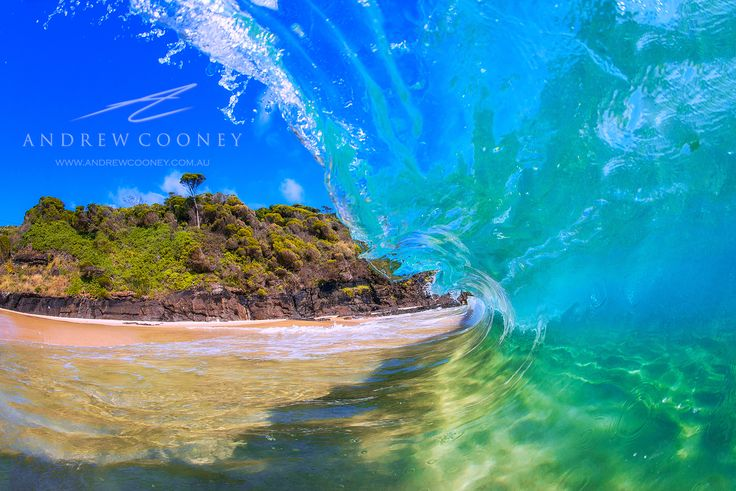 Forster on the NSW Central Coast, home to beautiful Blue waves!  Image - Andrew Cooney