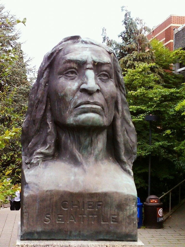 best chief seattle and princess angeline images  chief seattle