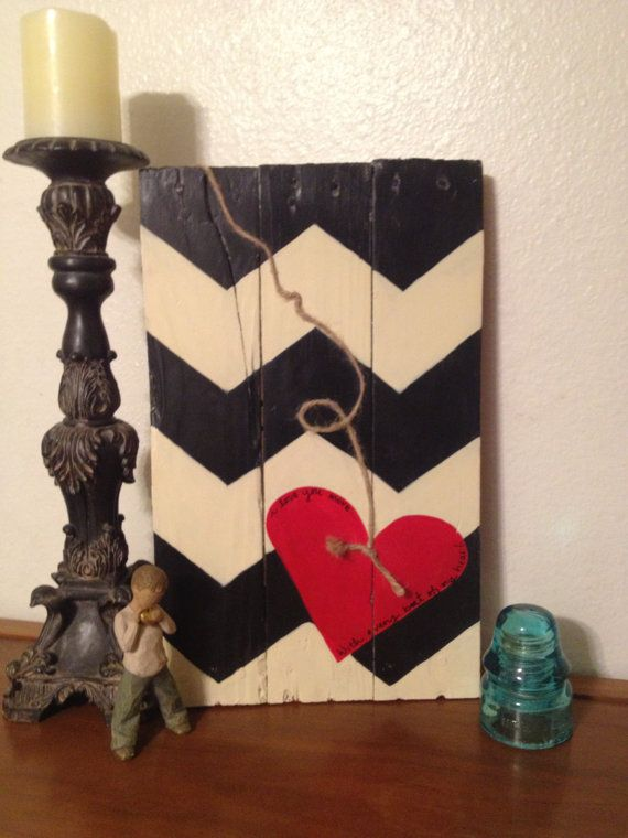 Reclaimed Pallet Sign by JenniJamesDesigns on Etsy, $45.00