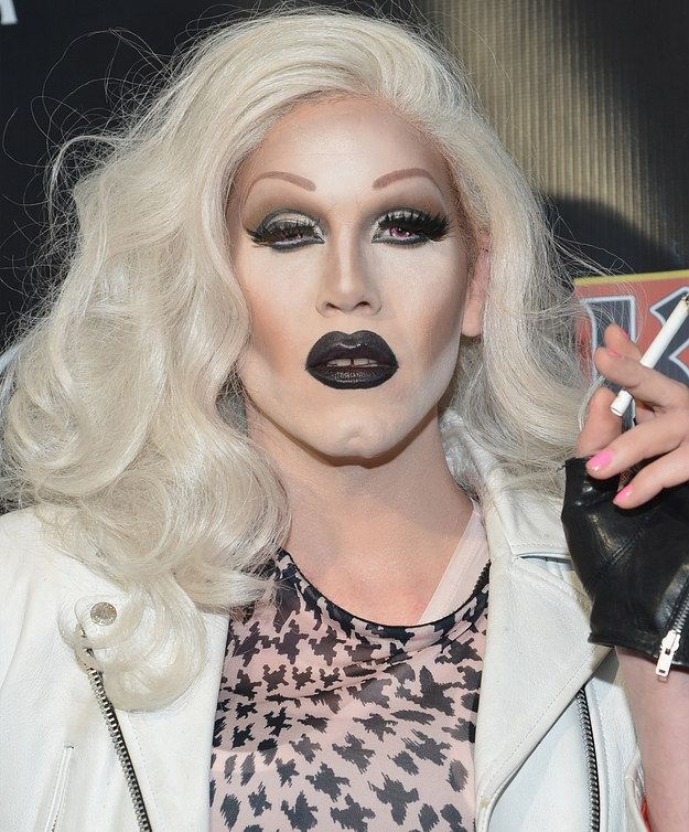 Sharon Needles | 15 Fierce Drag Queen Transformations That'll Blow Your Wig Off  Amazeballs