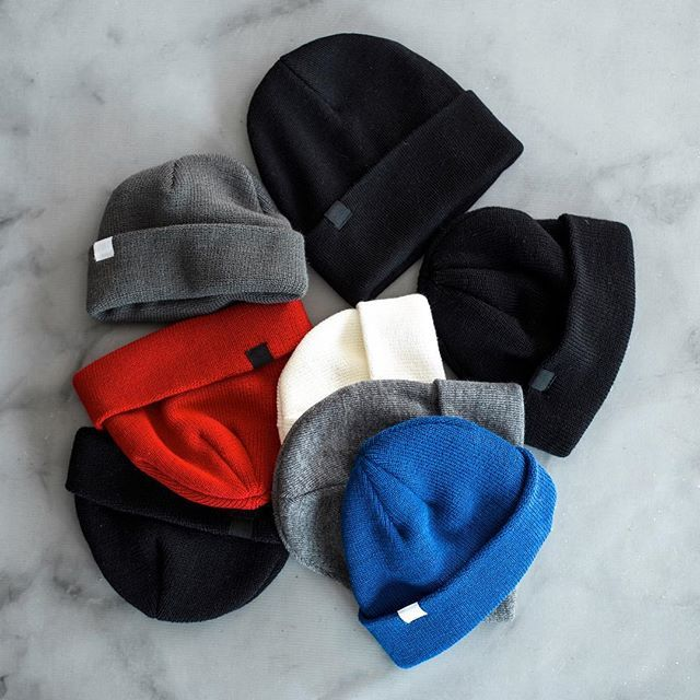 Our always-popular beanies are back in more colours and cuts, just in-time for colder weather! #othboutique #montreal