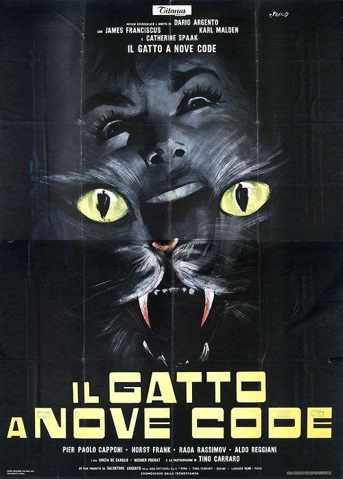 """Il Gatto a Nove Code (1971) """"O Gato de Nove Caudas"""""""