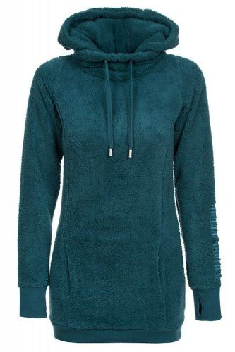 Urban Surface Damen Fleecepullover D2001N00191A Petrol XS: Amazon.de: Bekleidung
