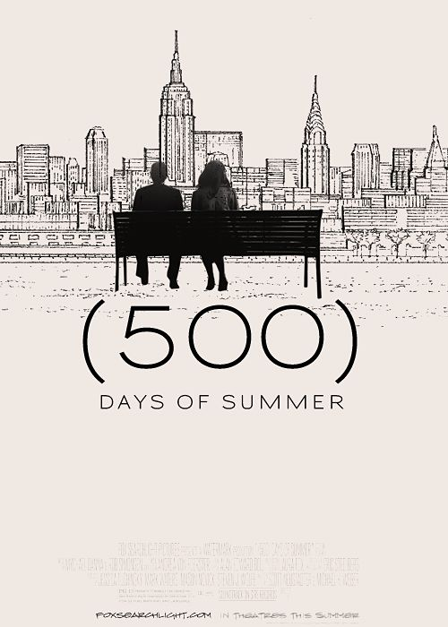 500 Days of Summer. One of the best movies of its genera. Fun Fact : It's directed by Marc Webb, director of the new spider-man franchise.
