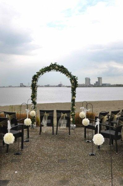 Strand bruiloft aankleding | Portfolio In Style Styling & Decoraties | www.instylestyling.com