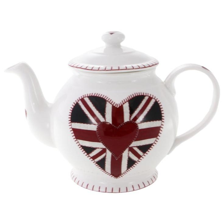 Jan Constantine Union jack #teapot