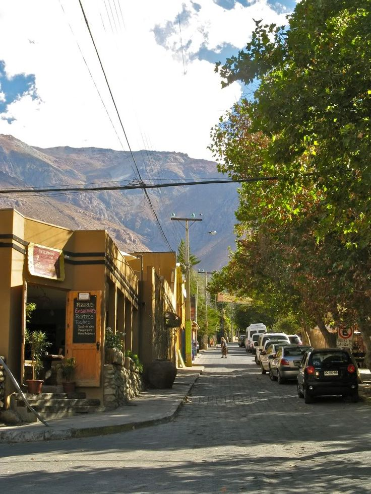 Pisco Elqui, Coquimbo Region, Chile. @kmontaine here is where we ate dinner!
