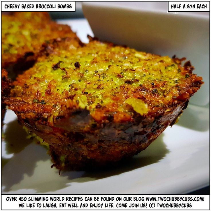 cheesy baked broccoli bombs