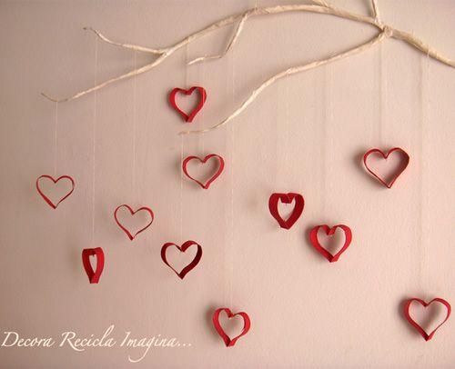 Cosas para hacer con los rollos de papel higiénico. Un árbol para tu pared.