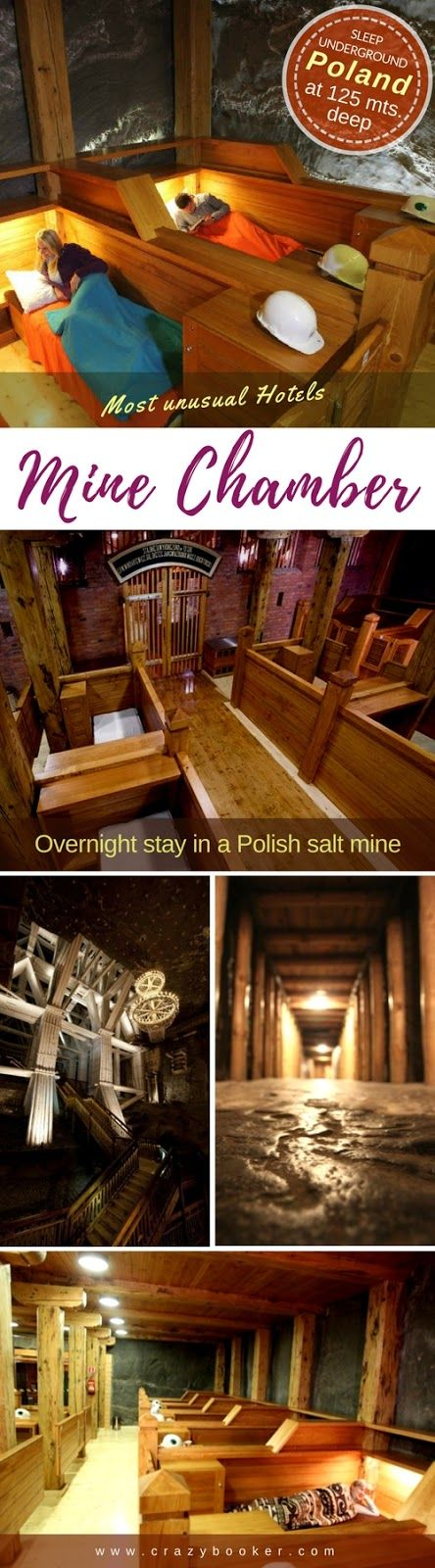 Healthy underground Glamping in the depths of a Polish mine pit – Crazybooker.com | Unique Hotels of the world | We follow back!