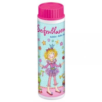 Which little girl doesn't adore bubbles!  Magical bubble fun from - 42 ml of bubble solution in beautifully decorated container.    Comes with built-in bubble wand and is a brilliant gift add on and gorgeous addition to party bags!  Size: 10CM x 3CM