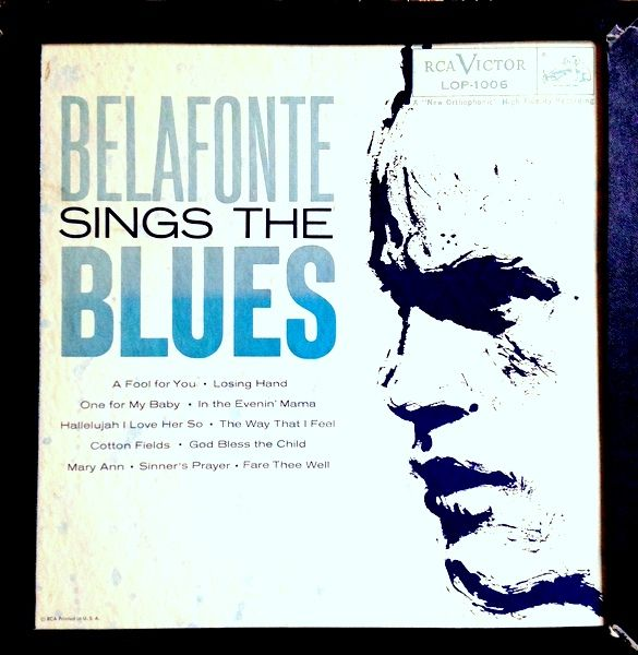 "Latest Re-Mastering Project. Belafonte Sings The Blues - Harry Belafonte 1958. Another great old record. Mostly because most of the songs were recorded by Ray Charles. Favorite Track: ""A Fool For You"". I wish this was available on cd. As it is I'll have to make due with this well-loved and well-played copy. Audacity cleaned it up pretty good. It'll do for now."