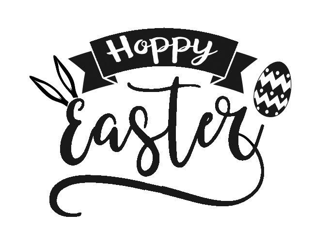 30+ Hoppy Easter Svg Design