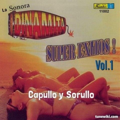"""-- #LyricArt for """"Capullo y Sorullo"""" by La Sonora Dinamita"""