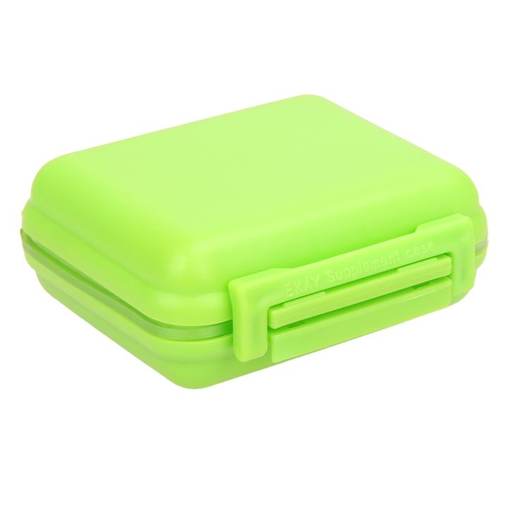 Portable 8 Cells Pocket Pill Medicine Box Storage Case Organizer Jewelry Box Pill Container High Quality Free Shipping