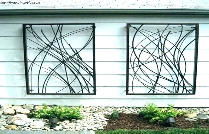 39 Awesome Large Wrought Iron Wall Decor Ideas