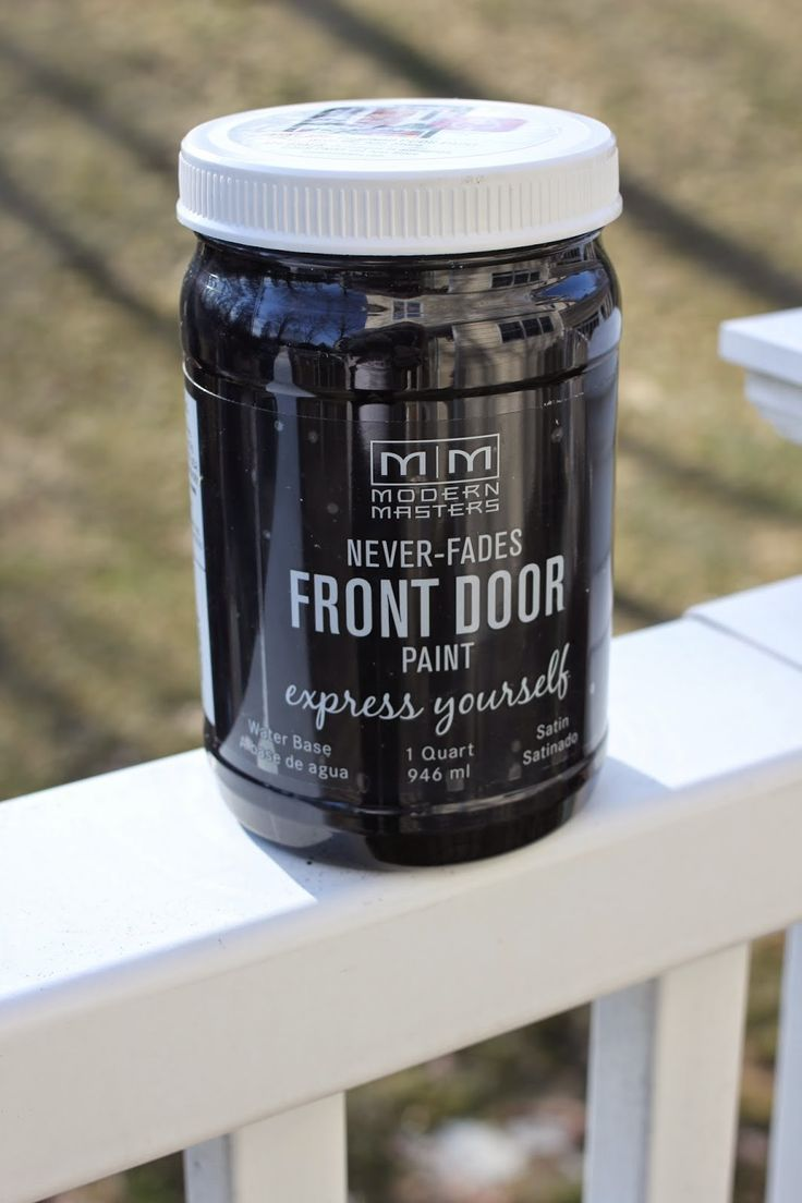 modern masters never-fades front door paint at some Lowe's and Ace Hardware, amazon, and modern masters online