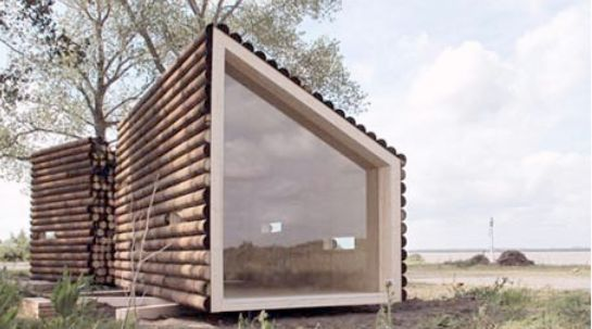 17 best ideas about small modular homes on pinterest modern modular homes container cabin and - Mini casas de madera ...