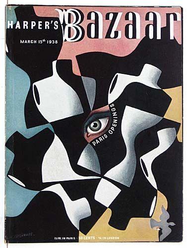 Harper's Bazaar    Date: March 15, 1938    Artist: A.M. Cassandre