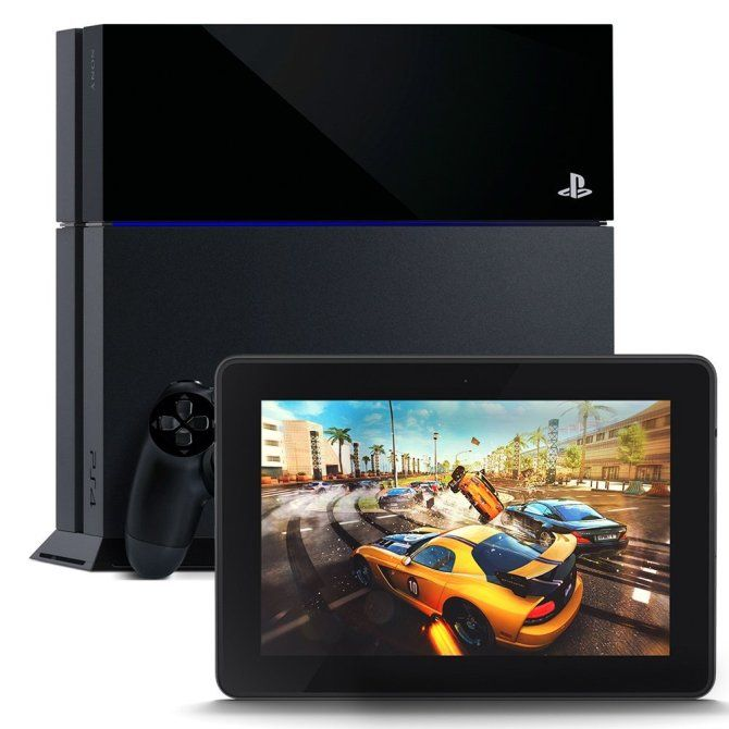 """PlayStation 4 and Kindle Fire HDX 7"""", HDX Display, Wi-Fi, 16 GB - Includes Special Offers."""