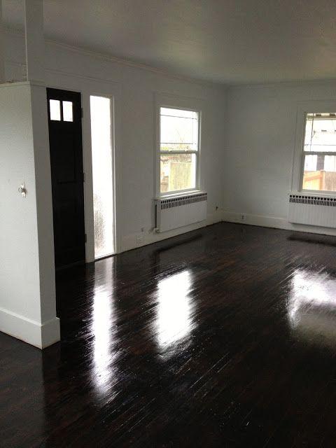 Best 25 painted hardwood floors ideas on pinterest for Refinishing painted hardwood floors