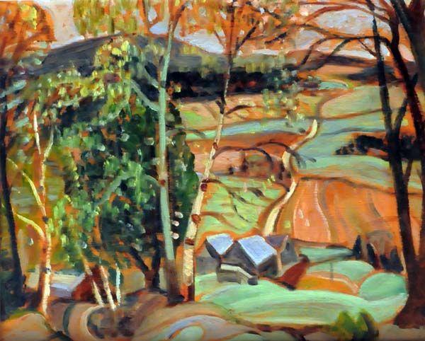 Anne SAVAGE - Lake Vonish, Laurentians (c. 1940)