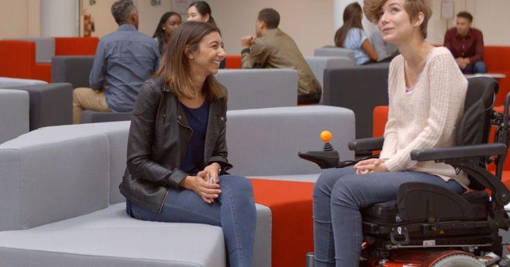 """Pour trouver facilement des lieux de sortie accessibles, les usagers de fauteuils roulants pourront bientôt utiliser """"Exacto"""", une appli mexicaine que sa créatrice souhaite exporter dans le monde entier."""