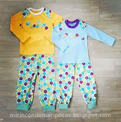Pijama unisex (con patrón de pantalón)
