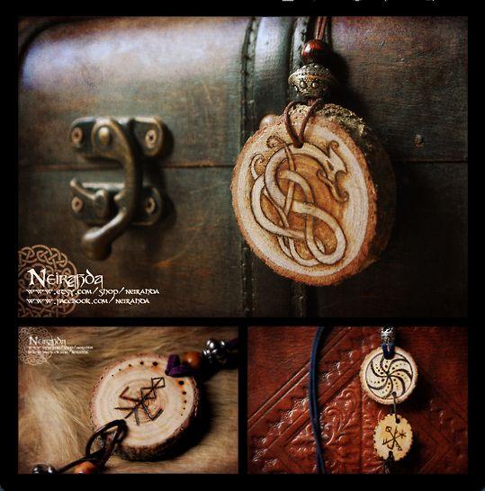 Pagan pendants by LuthienSecrets.deviantart.com on @deviantART---------(Viking Blog: elDrakkar.blogspot.com)
