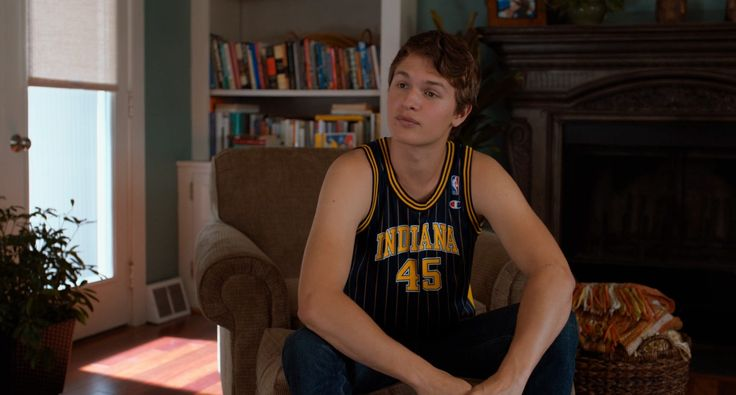 Indiana Pacers x NBA x Champion jersey worn by Ansel Elgort in THE FAULT IN OUR STARS (2014) @Pacers