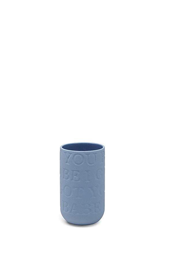 Kahler Design Vase Blumenvase Love Song I Got You Babe Porzellan Indigo Blau Hohe 12 5 Cm Design Vase Blumenvase Blumen Vase