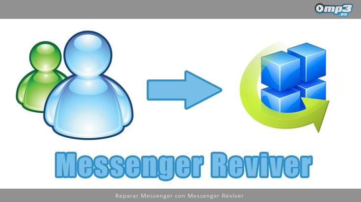 Jueves de Descargas: Messenger Reviver - Con este programa podrán utilizar normalmente su instalación de Windows Messenger 2009, ya que Messenger Reviver permite solucionar los problemas ocasionados por las restricciones de seguridad impuestas por la empresa desarrolladora. A continuación, el enlace de descarga directa de Messenger Reviver: http://descargar.mp3.es/lv/group/view/kl228856/Messenger_Reviver.htm?utm_source=pinterest_medium=socialmedia_campaign=socialmedia