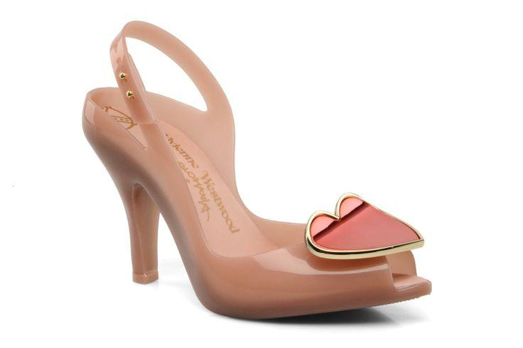 Pour la Saint Valentin, ton coeur fait boum  ! Chaussures MELISSA + VIVIENNE WESTWOOD ANGLOMANIA, modèle melissa lady dragon vii sp ad