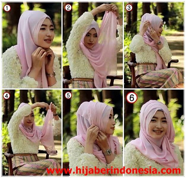 Cara Memakai Hijab Maroko Untuk Hijaber Yang Hobi Jalan-Jalan   Wajah Hijab Indonesia