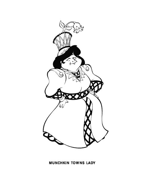 wizard of oz coloring pages picture 2 picture - Wizard Of Oz Coloring Book
