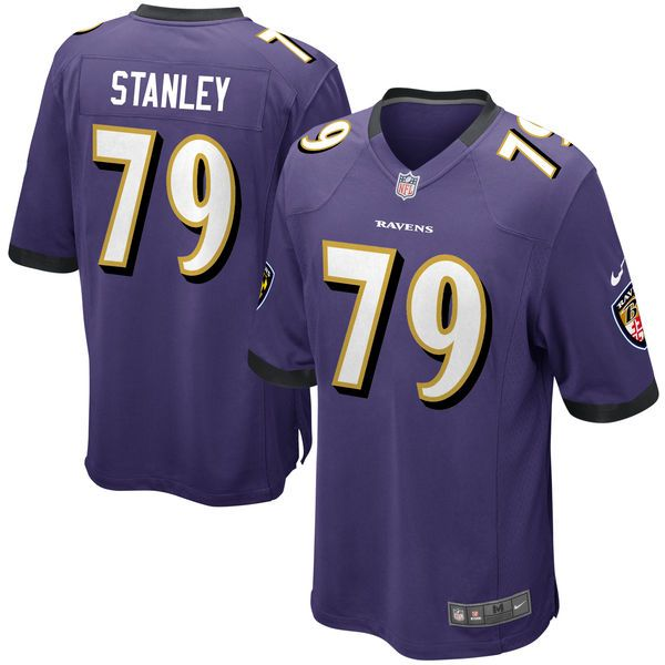 Ronnie Stanley Baltimore Ravens Nike Game Jersey - Purple - $99.99
