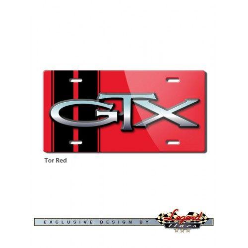 Plymouth GTX 1967 - 1971 GTX Emblem Novelty License Plate