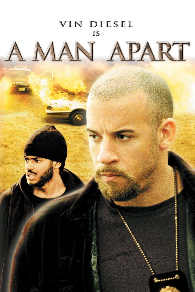 A Man Apart Movie Poster - Vin Diesel, Larenz Tate, Jacqueline Obradors  #AManApart, #MoviePoster, #GaryGray, #Thriller, #JacquelineObradors, #LarenzTate, #VinDiesel
