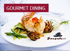 Fancy yourself as a bit of a connoisseur when it comes to cuisine? Fine dining is all part of the experience on Sensatori holidays...