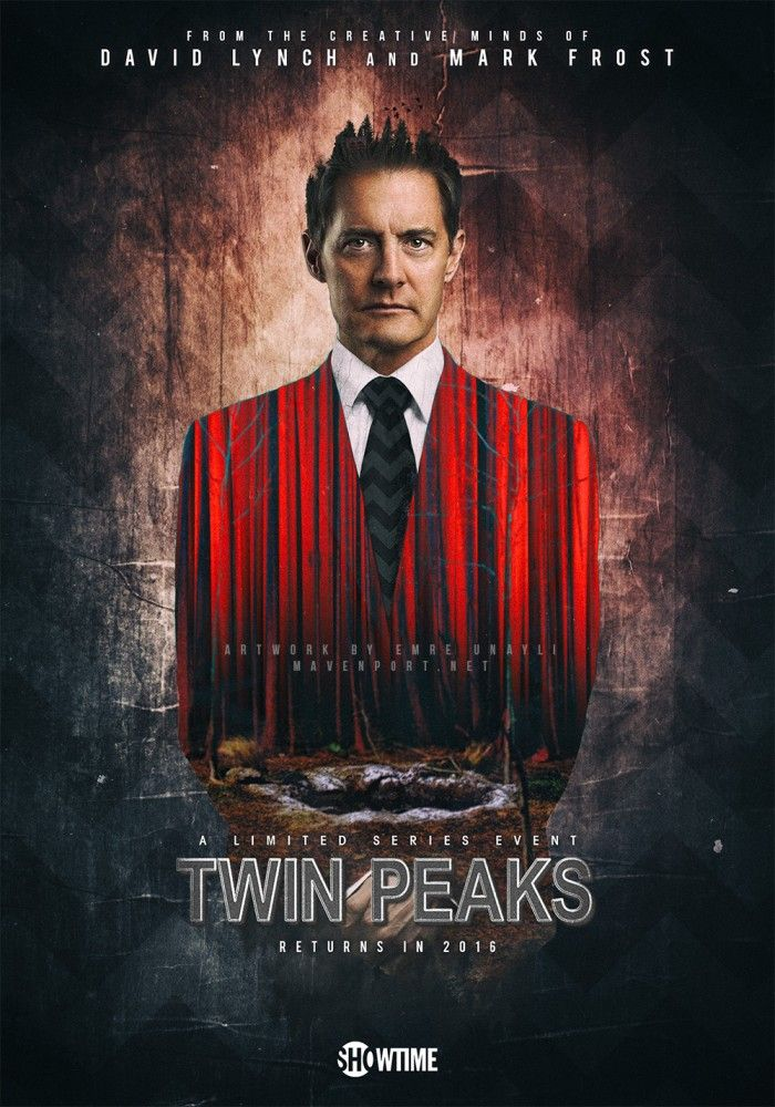 I am so excited about the return of this show. TP was the first ever box set I ever bought (VHS). Its looking like Summer 2017 and will be on Sky Atlantic here in the UK. Agent cooper…