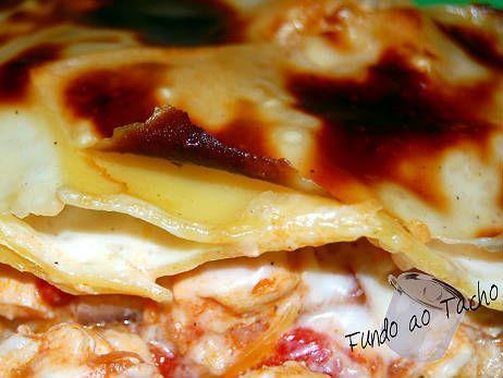 Receita de Lasanha de Frango .:. Kitchenet .:. Livro de culinária do aeiou