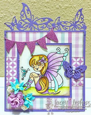 High Hopes Stamps: card by Lacey using new release Julie's Smile (522)