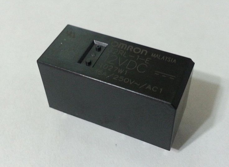 SPDT PC BOARD OMRON ELECTRONIC COMPONENTS G2RL-1-E DC12 POWER RELAY 12VDC 1 piece 16A