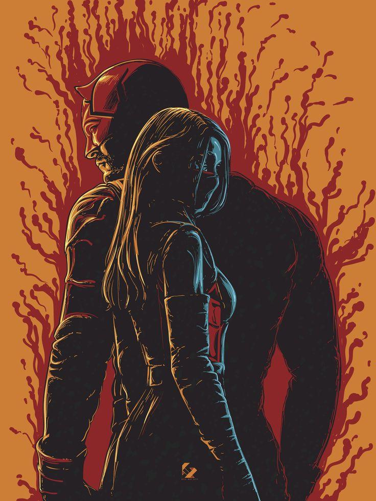 """Daredevil & Elektra - Jireh Ber Villafuerte """""""
