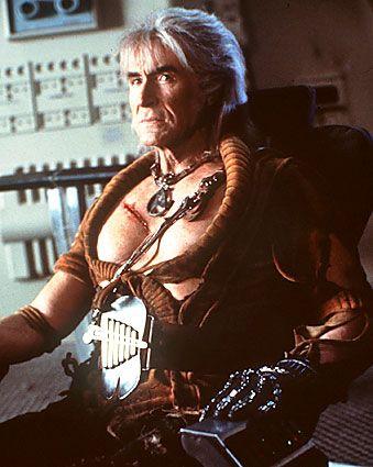 Ricardo Montalban - as the villain Khan Noonien Singh in the 1967 TV series Star Trek, and played the same role in the 1982 film Star Trek II: The Wrath of Khan.
