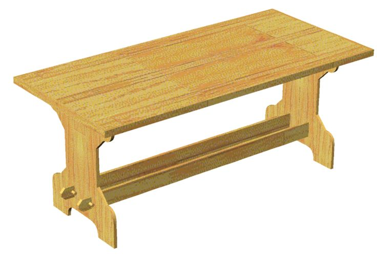 SCA fold up table plans