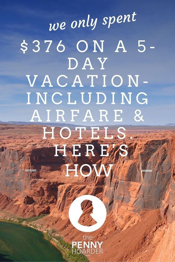 Trying to travel on a budget? One couple managed to take a five-day vacation in Colorado -- including airfare from Florida -- for only $376. Here are the travel hacks they used to make it happen - The Penny Hoarder http://www.thepennyhoarder.com/cheap-vac