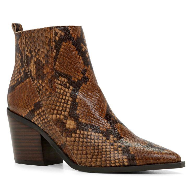 SHOP the Trend: Aldo Innocentina Boots, $83.99; at Aldo