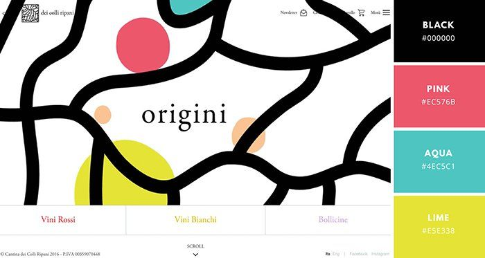 Website Color Schemes: The Palettes of 50 Visually Impactful Websites to Inspire You – Design School
