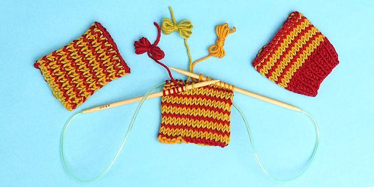 http://www.10rowsaday.com/helix-knitting - How to Knit Jogless One ...
